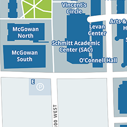 Campus Maps | DePaul University, Chicago