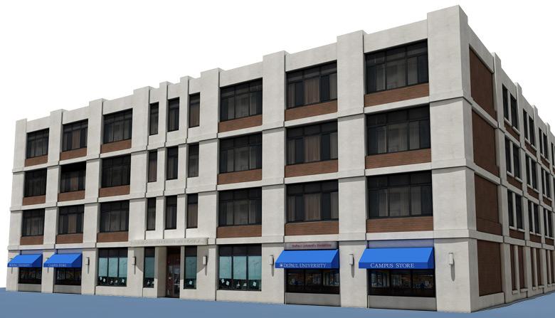 Seton Hall Buildings Campus Maps Depaul University