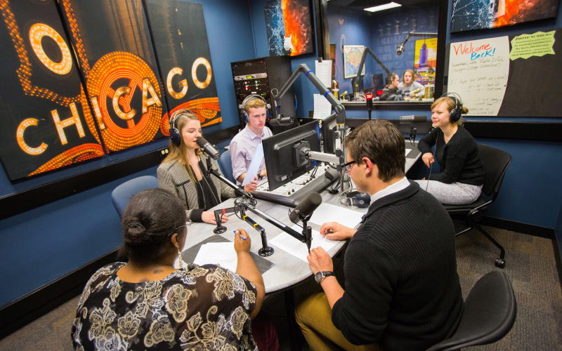 Communication, Journalism, and PR at DePaul